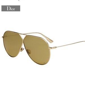 Dior Stellaire 3 - Gold Metal Aviator Frame